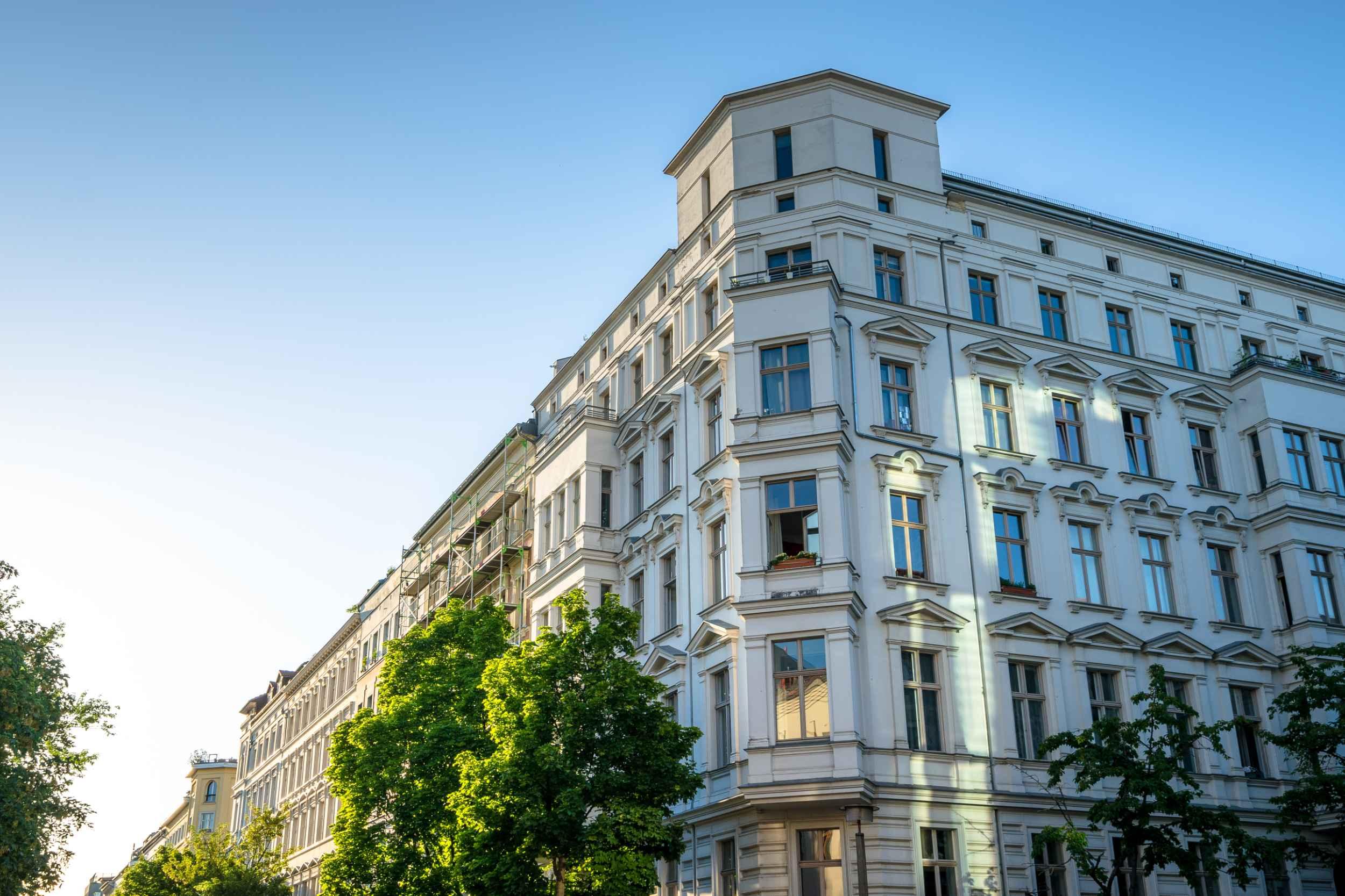 Restaurierte alte Immobilie